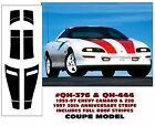 GE-QH-376  QH-444 1993-97 CAMARO & Z28 COUPE RACING STRIPE - 30TH ANNIVERSARY