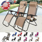 7 Colors Zero Gravity Chairs Case Of 2 Lounge Patio Chairs Outdoor Yard Beach
