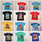Angry Bird Spiderman Minions Big Hero Frozen Turtles Elmo Tee / T-shirt