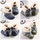 toddler boy military boots - Baby Kids Boys Military Snow Warm Boots Soft Crib Shoes Toddler Newborn to 12M