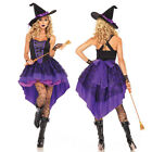 Sexy Witch Cosplay Costume Women Ladies Adult Fancy Dress Christmas Costume Hot