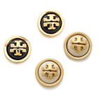 NEW Tory Burch Melodie Logo Stud Dome Earrings