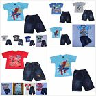 Car Spiderman Minions Mickey Mouse Angry Bird Thomas George Batman 2 pcs Outfits