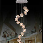 3/4/6/10/12/15/19/24 LED Wire balls Modern Living Room stair Ceiling Light lamps