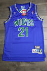 Kevin Garnet #21 Minnesota Timberwolves Jersey Green Blue Swingman Basketball on eBay