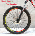 New DT SWISS Mountain Bike Wheel Rim Reflective Stickers For MTB DH Race Decals