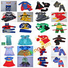 KIDS CHILDREN SUPERHERO PARTY COSTUMES BIRTHDAY BOYS GIRLS TODDLER DRESS UP