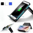 3 Coils Qi Wireless Charging Charger Pad Stand Holder For SmartPhone Tablet Tab