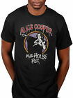 Official Alice Cooper Casa Pazza Rock T-Shirt Sciacquare Il Moda Hey Stoopid