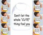 Rabbit Skins Infant Cotton Snap Bib Don't let the whole Cute thing fool you