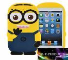 Minion Ipad mini case / Apple Ipad Min / 3D Silicone / 2 Colours / Despicable me