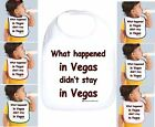Rabbit Skins Infant Cotton Snap Bib What Happened In Vegas Didn't Stay in Vegas
