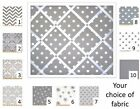 Grey French Memo Board - 16 x 20 with choice of ribbon