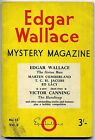 EDGAR WALLACE MYSTERY MAGAZINE No.13, Vol. 2 1965 Victor Canning PAPERBACK