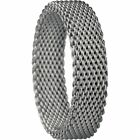 BERING Stapelring Mesh IP grau breit Arctic Symphony Collection 551-80-X2