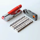 Wire Stripping F Head Pliers RG59 RG6 Coaxial Cable TV Crimping Tool Kits