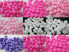 500 - 11mm Flower Pony Beads - Color choice