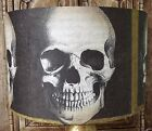 Gothic Skull Lamp shade 2,lampshade Halloween Black and gold Free Gift