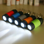 Portable Rechargeable Mini LED Torch light 0.3W Multicolor Light with Keychain