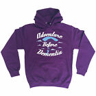 ADVENTURE BEFORE DEMENTIA PARACHUTE HOODIE skydiving hoody funny birthday gift