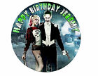 Harley Quinn Joker Suicide Squad Superhero Party Cake Decoration icing sheet