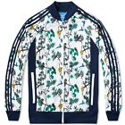 Adidas Originals Island Superstar Tracksuit Top S19054 White / Navy UK Sizes