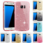 Bling Glitter Case ShockProof Protection Cover For Samsung Galaxy S7 S6 edge US