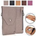 Universal Genuine Leather Vertical Protective Phone Sleeve Pouch Case Cover MO8