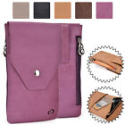 Universal Genuine Leather Vertical Protective Phone Sleeve Pouch Case Cover MO15