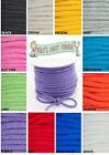 Knitted Drawstring Cord - 4mm Wide Cotton Cord Ideal For Hoodies, Clothing Etc