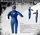 Blue Synthetic Leather MMA Hanging Style Grappling Dummy