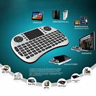 92 Keys Wireless 2.4GHz Keyboard Touchpad Mouse Combo for TV Box Laptop Smart TV