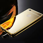 Cell Phones Accessories Best Deals - Luxury Aluminum Metal Bumpe Accessories Mirror Case Cover For Huawei Cell Phone