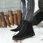 Fashion Mens Winter Warm Casual Lace Up Antiship Thichen Shoes Ankle Snow Boots