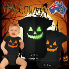HALLOWEEN BABYGROW baby grow fancy dress romper body suit funny birthday gift