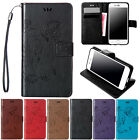 For iPhone SE 6 6s 7 Plus Shockproof Wallet Leather Hybrid Hard Stand Case Cover