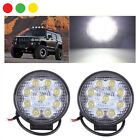 KIT 2 4 PEZZI FARO FARETTO 27W FARO 27 WATT 12V 9 LED PER AUTO JEEP BARCA IP68