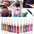 Temporary Colorful Hair Mascara Non-toxic Hair Mix Color Dye Highlights Salon