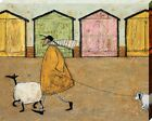 Sam Toft Along The Prom Canvas Print 40x50x3.8cm