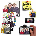 PERSONALISED CANVAS WALL ART PICTURE PRINT VARIETY OF DESIGNS AND SIZES