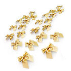 24x Cute Bowknot Ornament Party Hanging Decoration Christmas Tree Decor Wedding