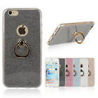 PU Leather Card Slot Stand Case Cover With Neck Strap Lanyard For iPhone Samsung