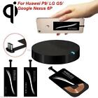 QI Wireless Charger + USB Type-C Sticker charge pad Receiver for P9 Nexus 6P Lot