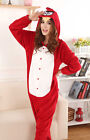 HOT Unisex Adult Pajamas Kigurumi Cosplay Costume Animal Onesies Sleepwear Robe》