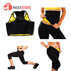 COMPLETO TOP FASCIA E PANTALONCINO HOT SHAPERS SAUNA DIMAGRANTE FITNESS