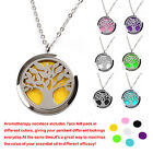 Anti-allergy Surgical Stainless Steel Holder Essential Oil Diffuser Necklace Set