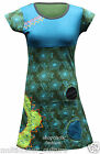 Womens Boho Gypsy Hippy Top Bohemian Vintage Style Tunic Summer Festival Dress