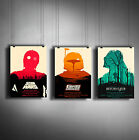 STAR WARS A3 or A4 Size * Alternative Movie Posters * Minimal Vintage Wall Art £3.99 GBP