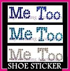 Me Too Wedding Shoe Sticker