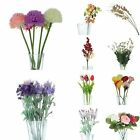 Wedding Decor Faux Flowers Daisy Bouquet Party Artificial Tulip Supplies